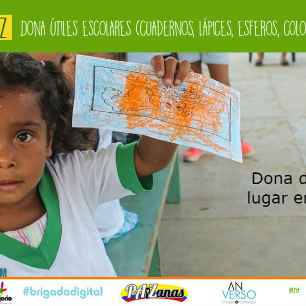 #AulasRíoPaz: Una campaña diferente