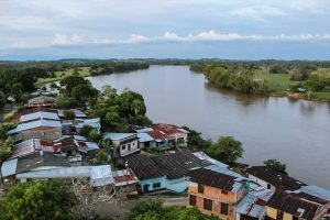 Río Guayas. Antigua vía hacia Puerto Rico